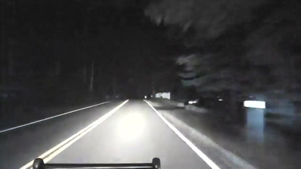 [NECN] Pelham Police Dashboard Camera Captures Pursuit