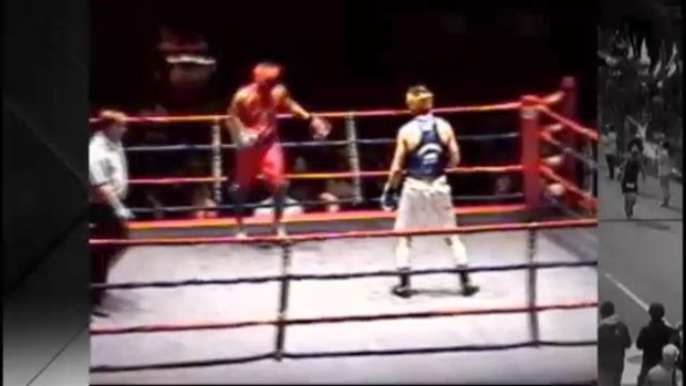 [NECN] RAW VIDEO: Tamerlan Tsarnaev Competes in Boxing Match