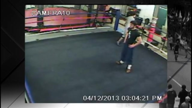 [NECN] RAW VIDEO: Tsarnaev Brothers at Gym Days Before Bombing
