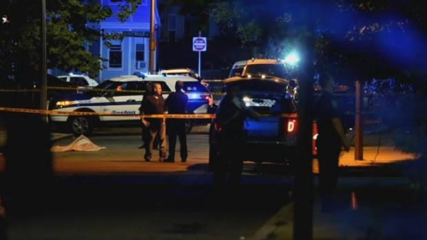[NECN] Triple Shooting in Dorchester