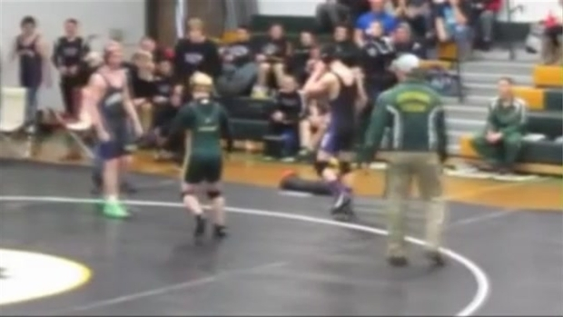 Undefeated Wrestler Loses Match to Special Needs Student