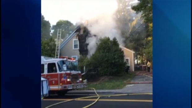 [NECN] Fire Causes Massive Damage to 130-Year-Old Home