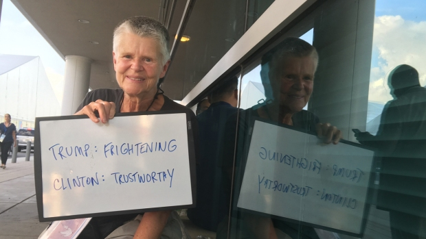 [NATL] DNC Attendees Show What They Think of the Candidates