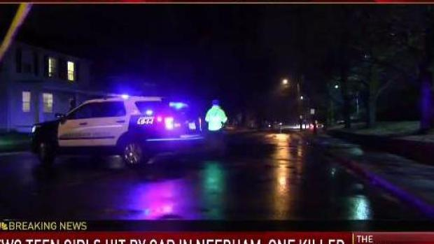 [NECN] Deadly Pedestrian Accident In Needham