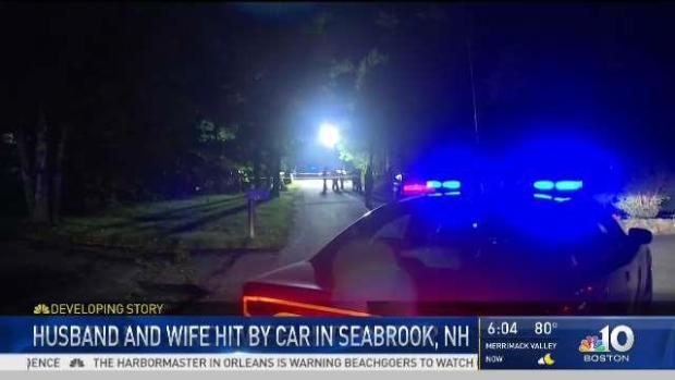 [NECN] New Hampshire Husband and Wife Hit by Car