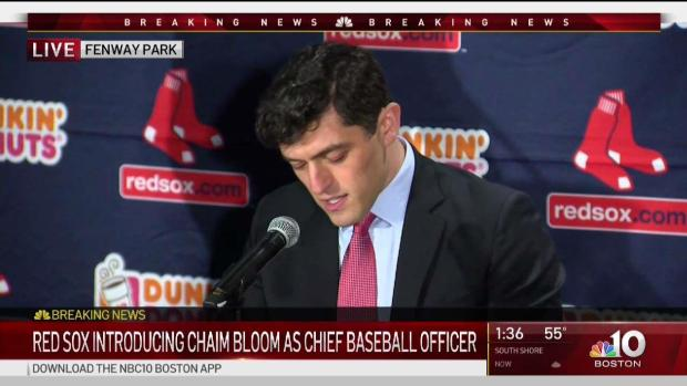[BOS] New Red Sox Chief Baseball Officer Chaim Bloom Introduces Himself