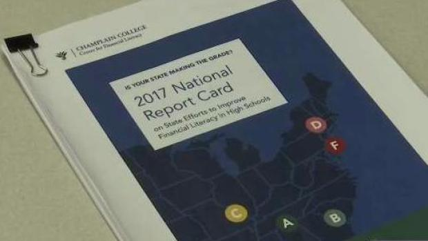 [NECN] New Report Card on Financial Education