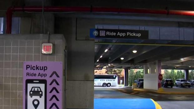 [NECN] New Space for Rideshare Pickups Unveiled at Logan Airport