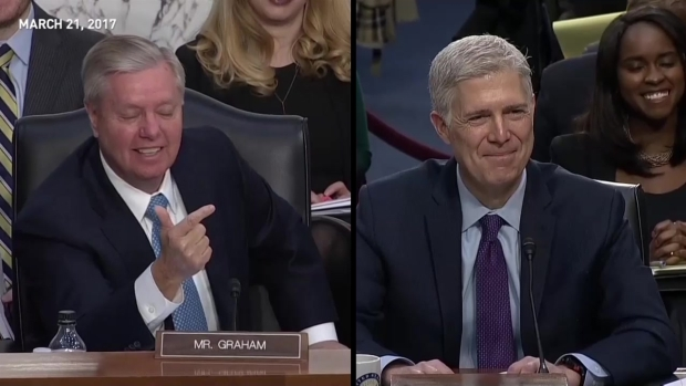 [NATL] 'No Man Is Above the Law': Gorsuch During Confirmation Hearing