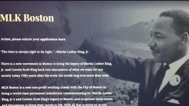 [NECN] Nonprofit Raising Money for MLK Memorial