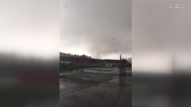 Amazing Viewer Footage of Conn. Tornado