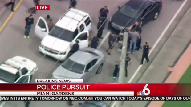 High-Speed Chase Ends in Southwest Miami-Dade