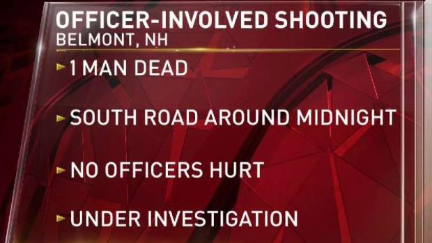 [NECN] Officer Involved Shooting in N.H. Leaves One Dead