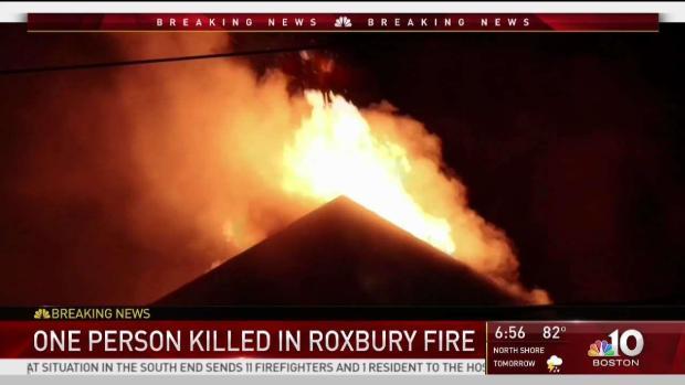 [NECN] One Person Killed in Roxbury Fire