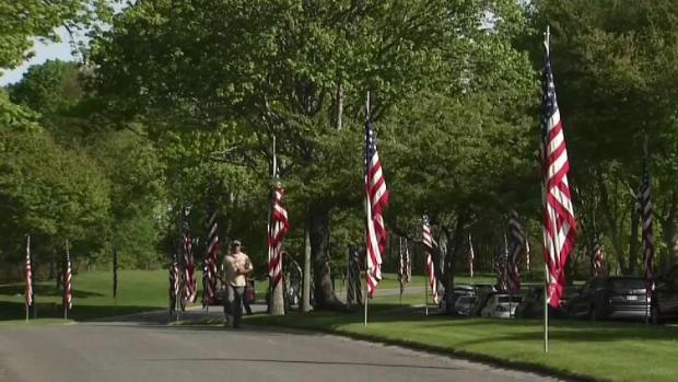 [NECN] 'Operation Flags for Vets' Held in Bourne