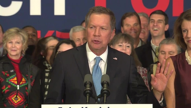 Kasich Addresses Supporters After N.H. Primary