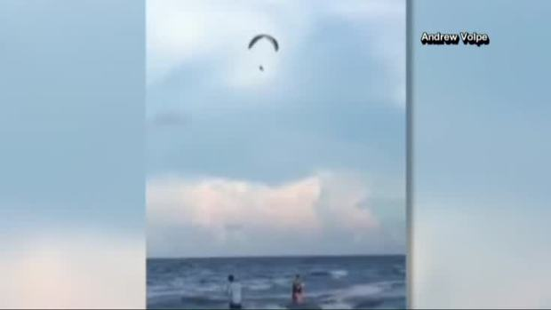 [NATL] WATCH: Paraglider Survives 150 Foot Fall