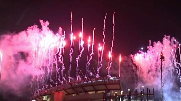 [NECN] Patriots Fans Celebrate Opening Night Win Over Steelers
