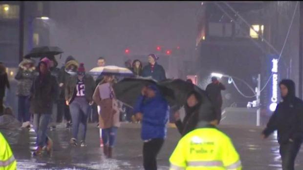 Patriots Fans Devastated in Boston