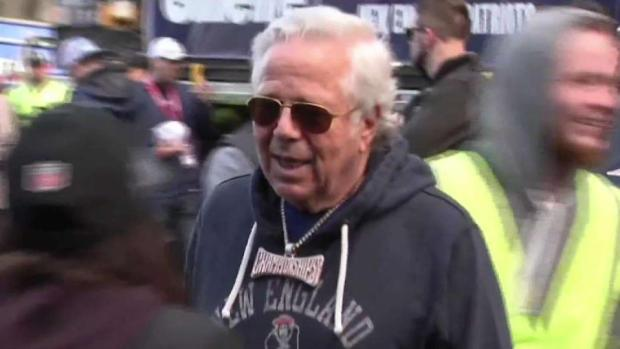 [NECN] Patriots Fans, Neighbors React to Charges Against Kraft