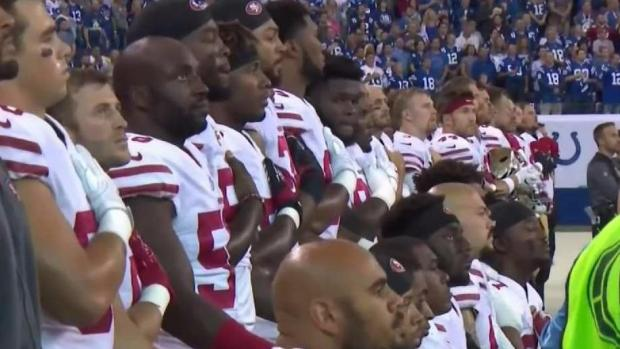 National Football League  players chief hits back over anthem protests