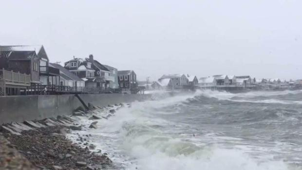 People on Cape Prepare for High Surf and Power Outages