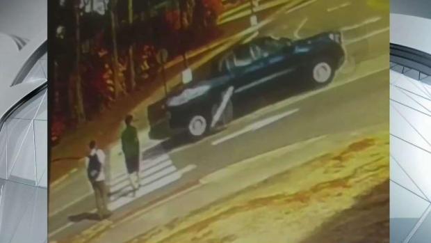 [NECN] Pickup Nearly Hits Students at Maine Crosswalk