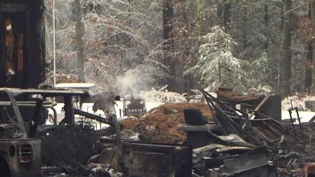 [NECN] Police Chief's Home Destroyed in Fire