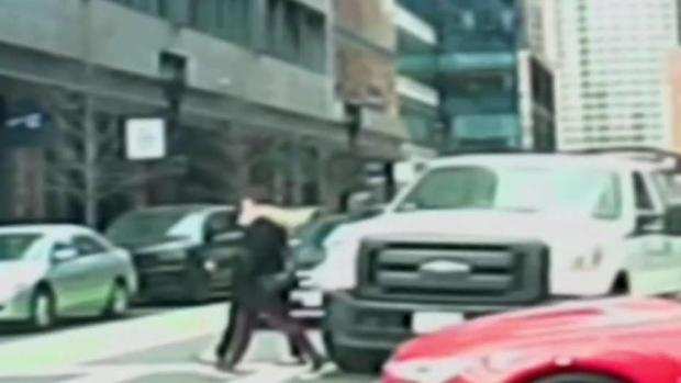 [NECN] Police Search for Driver in Seaport Hit-and-Run