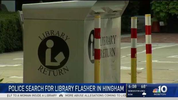 [NECN] Police Search for Man Who Exposed Self at Hingham Library