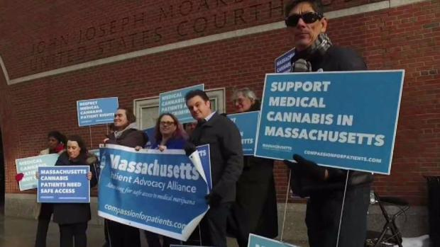 [NECN] Pot Advocates Hold Rally Amid Government Crackdown