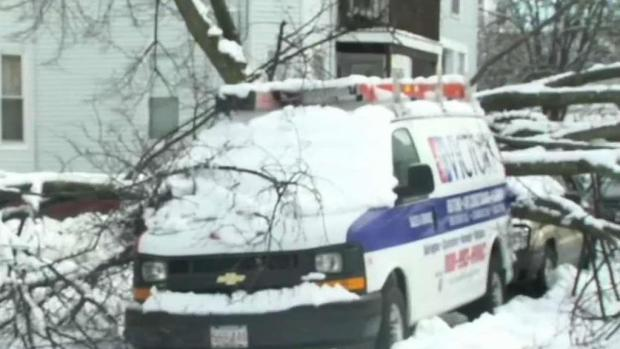 [NECN] Power Outages Continue to Plague New England