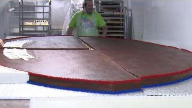 [NECN] Local Business Supports Patriots in Sweet Way