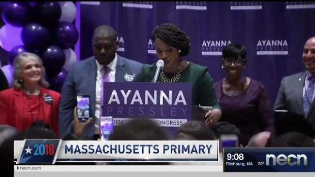 [NECN] Pressley Wins While Close Call May Be Recounted