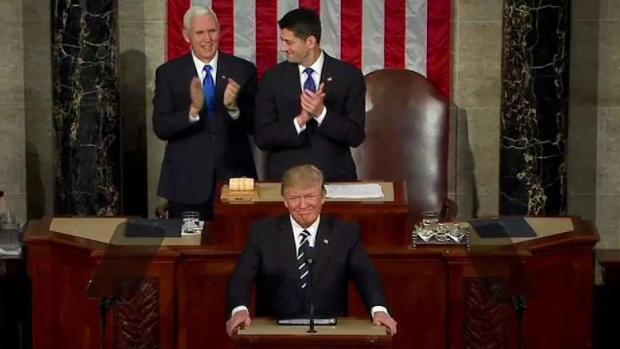 [NECN] President Trump to Give His First State of The Union Address Tuesday