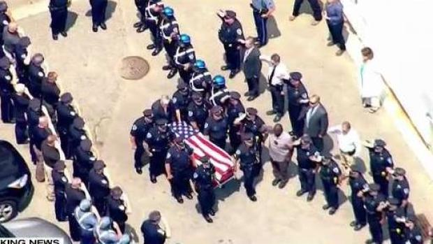 [NECN] WATCH: Procession for Slain Officer from Medical Examiner to Weymouth