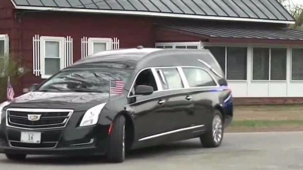 [NECN] Public Viewing Held for Cpl. Eugene Cole in Maine