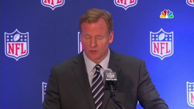 [NATL] NFL Commissioner Roger Goodell: 'We Believe Everyone Should Stand for the National Anthem'