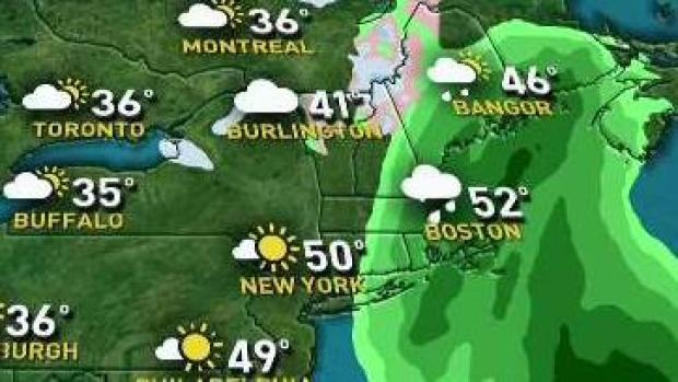 [NECN] Rain Will Let Up in Time for Thanksgiving