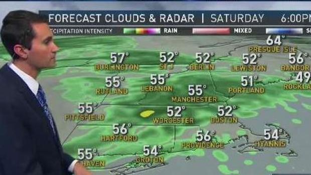 [NECN] Rainy Saturday Gives Way to Some Sun on Sunday