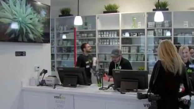 Recreational Marijuana Sales Begin in Wareham   NECN