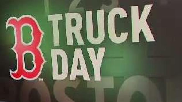 [NECN] Red Sox Equipment Truck Leaving for Spring Training