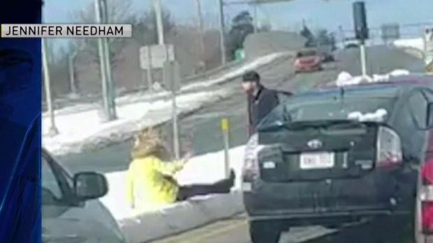 [NECN] Road Rage Incident Caught on Camera