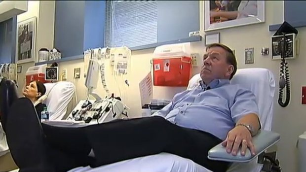 [NECN] Blood Donor: I Will Donate as Long as I Can