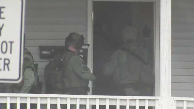 [NECN] SWAT Teams Respond to Maynard Home