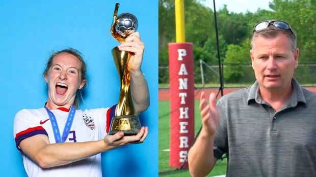 [NECN] World Cup Champion Celebrated in Hanson
