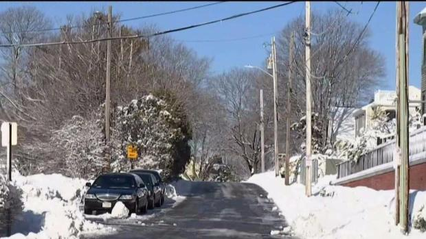 [NECN] Scituate Cleaning Up After Blizzard