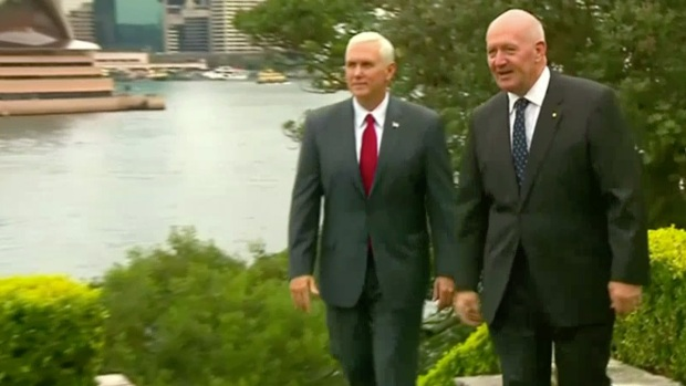 [NATL] Mike Pence Discusses North Korea With Australia Leader