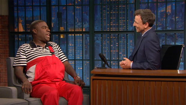 [NATL] 'Late Night': Tracy Morgan on Why God Sent Him Back Down to Earth