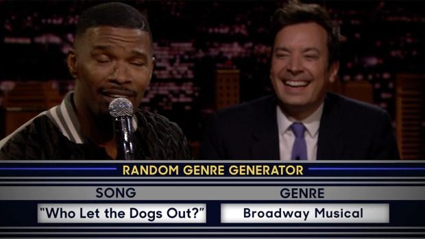 [NATL] 'Tonight': Musical Genre Challenge With Jamie Foxx